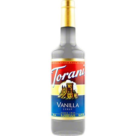 Torani® Vanilla Syrup - 750 mL