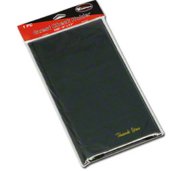 "Winco® Black Check Holder - 10"" x 5 1/2"""