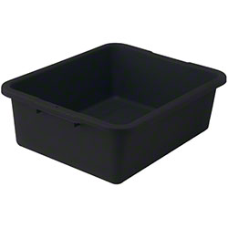 Winco® Heavy-Duty Dish Box - Black
