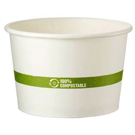World Centric Paper Bowl w/Ingeo™ Lining - 16 oz.
