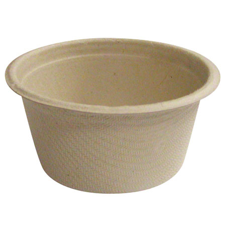 World Centric Bagasse/Wheatstraw Soufflé Hot Cup - 2 oz.