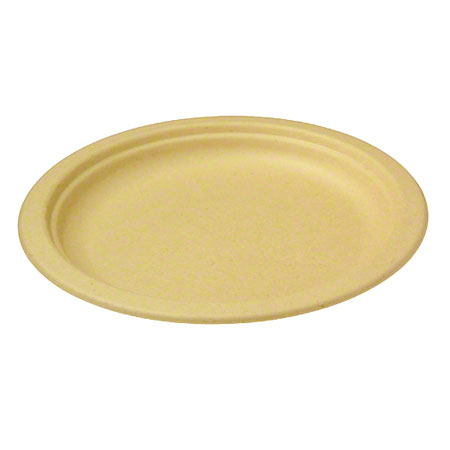World Centric Bagasse/Wheatstraw Plate - 10""