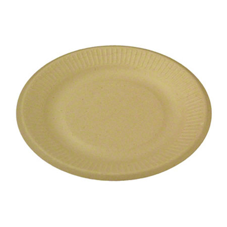 World Centric Bagasse/Wheatstraw Plate - 6""