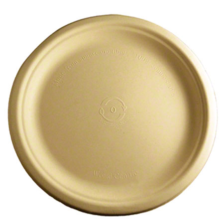 World Centric Bagasse/Wheatstraw Plate - 9""