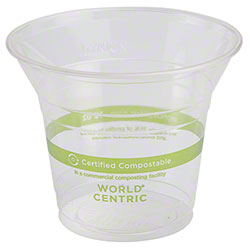 World Centric Ingeo™ Clear Cold Cup - 10 oz.