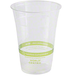 World Centric Ingeo™ Clear Cold Cup - 16 oz.