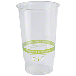 World Centric Ingeo™ Clear Cold Cup - 24 oz.
