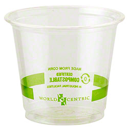 World Centric Ingeo™ Clear Cold Cup - 6 oz.