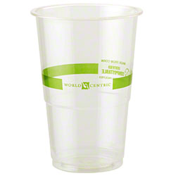 World Centric Ingeo™ Clear Cold Cup - 9 oz. Tall