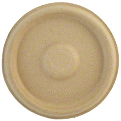 World Centric Bagasse/Wheatstraw Lid For 4 oz. Soufflé Cup