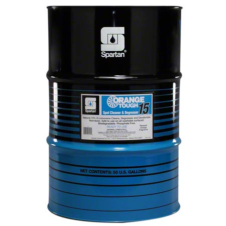 Spartan Orange Tough® 15 Cleaner & Degreaser - 55 Gal.
