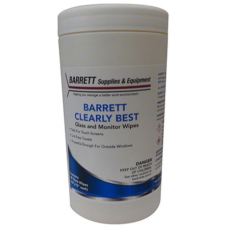 Barrett Clearly Best Wipes - 40 ct.