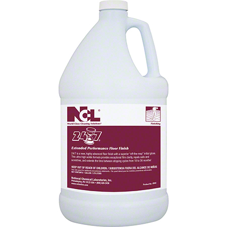 NCL® 24/7® Extended Performance Floor Finish - 5 Gal.