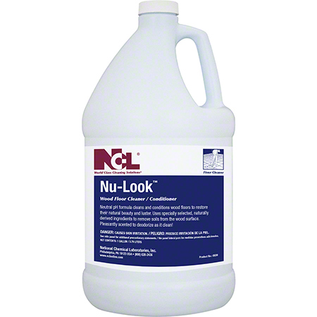 NCL® Nu-Look Wood Floor Cleaner/Conditioner - Gal.