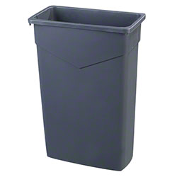 Carlisle Trimline™ Waste Container - 23 Gal., Grey