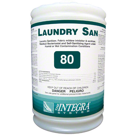 Integra® Laundry San Laundry Sanitizer 80 - Gal.