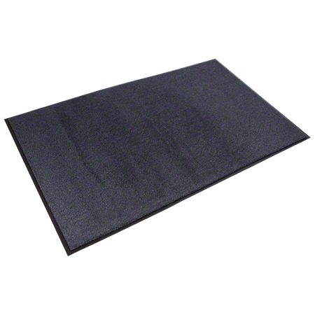 Crown Rely-On™ Olefin Wiper Mat - 4' x 6', Navy Blue