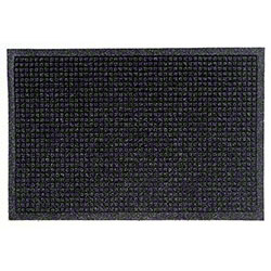 M + A Matting Waterhog® Fashion Border Mat -Charcoal, 3x5