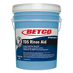 Betco® Symplicity™ TDS Rinse Aid 335 - 5 Gal. Pail