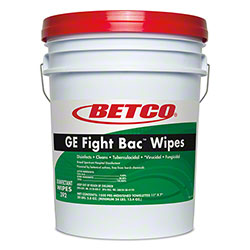 Betco® GE Fight Bac™ Disinfectant Wipes - 1500 ct. Bucket