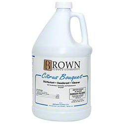 Brown Supply Citrus Bouquet Disinfectant/Deodorant/Cln- Gal.