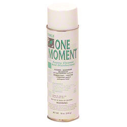 Franklin One Moment™ Foamy Cleaner & Disinfectant - 18 oz