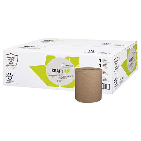 Sofidel Kraft Hardwound Roll Towel - 800', Natural