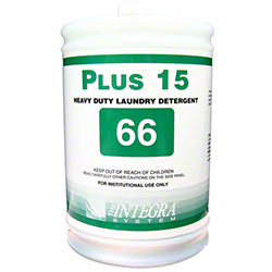 Integra® Plus 15 Heavy Duty Laundry Detergent 66 - Gal.