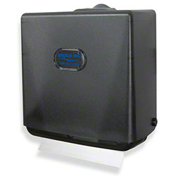 Bruco Mini Fold Towel Dispenser - Black