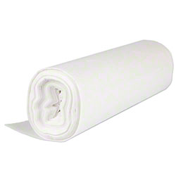 Inteplast HDPE Institutional Can Liner - 30 x 37, 10 mic,Nat