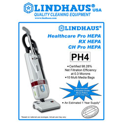 Lindhaus® PH4 HEPA Bag