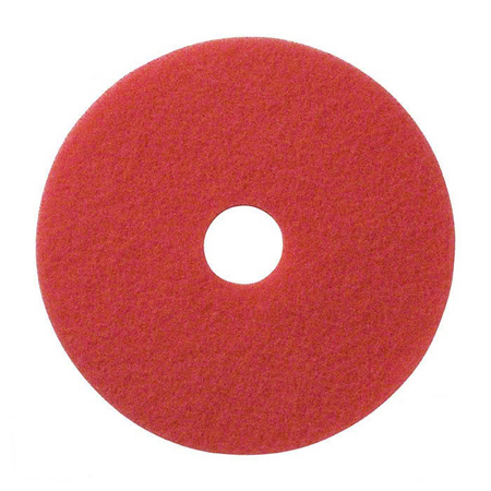 SSS® Red Spray Buff Floor Pad - 20""