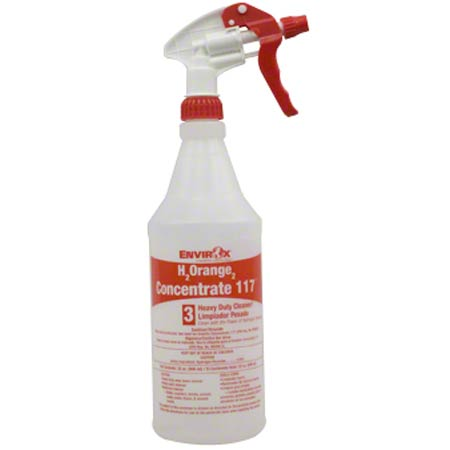 SSS® Empty Spray Bottle For #117 H2Orange2 - Red