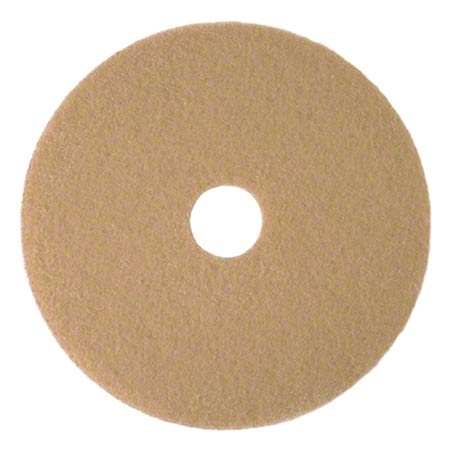 3M™ 3400 Tan Burnish Pad - 20""