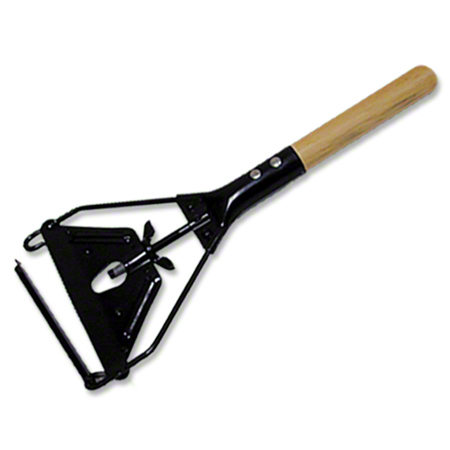 Abco Janitor Metal Swing Away Wood Handle - 54""