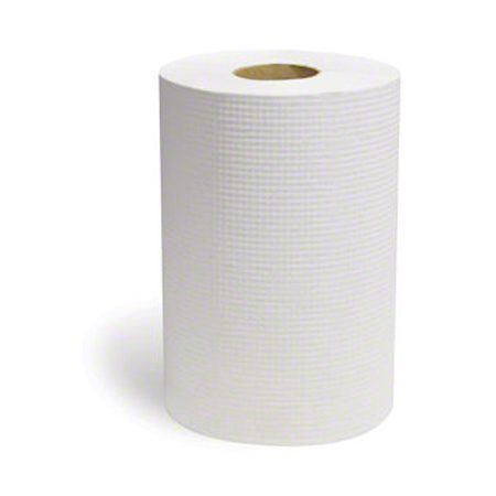 "Affex Bleached Embossed Hardwound Roll Towel - 8"" x 800'"