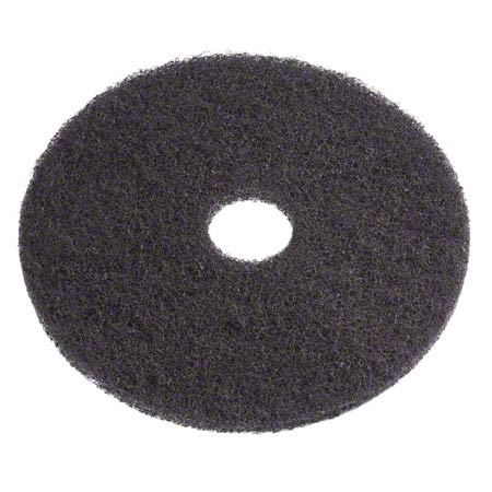 Americo Black Stripping Floor Pad - 24""