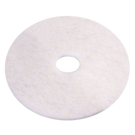 Americo White Polish Floor Pad - 27""