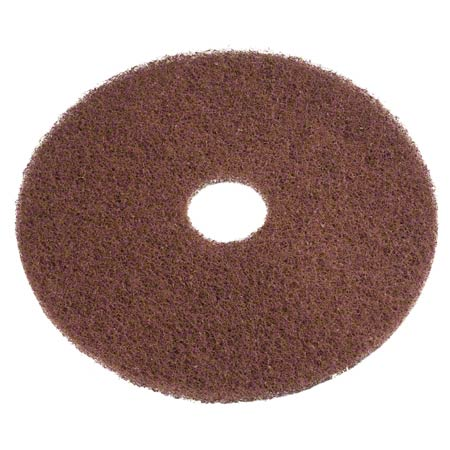 Americo Brown Stripping Floor Pad - 20""