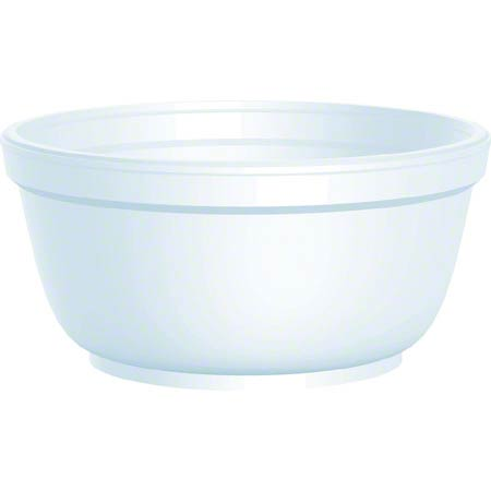 Dart® Foam Bowl - 12 oz.