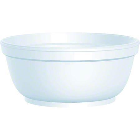 Dart® Foam Bowl - 8 oz.