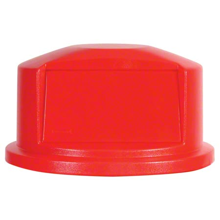 Rubbermaid® Dome For 2632, 2634 BRUTE® Round Cont. - Red