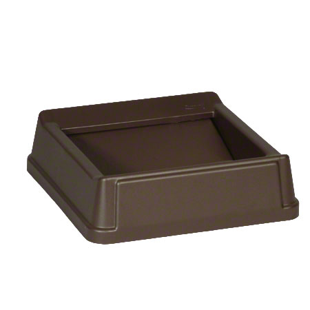 Rubbermaid® Untouchable® Square Top For 3568, 3569-Brown