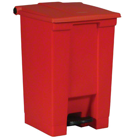 Rubbermaid® Step-On Can - 12 Gal., Red