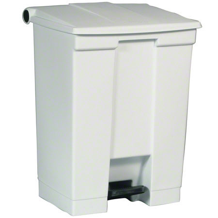 Rubbermaid® Step-On Can - 18 Gal., White