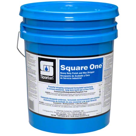Spartan Square One® Heavy Duty Finish & Wax Stripper-5 Gal