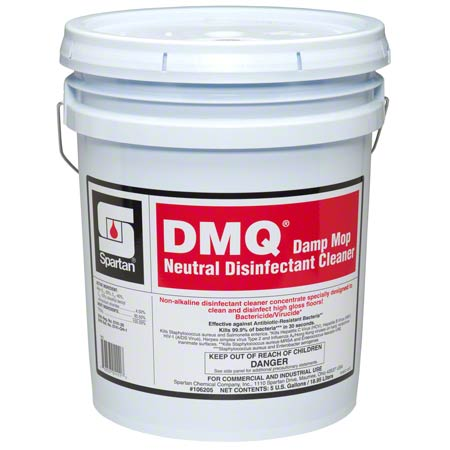 Spartan DMQ® Damp Mop Neutral Disinfectant Cleaner- 5 Gal.