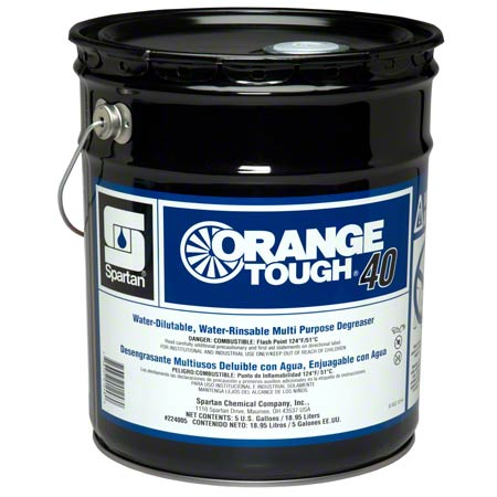 Spartan Orange Tough® 40 Degreaser - 5 Gal.