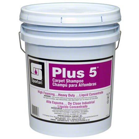 Spartan Plus 5® Carpet Shampoo - 5 Gal.