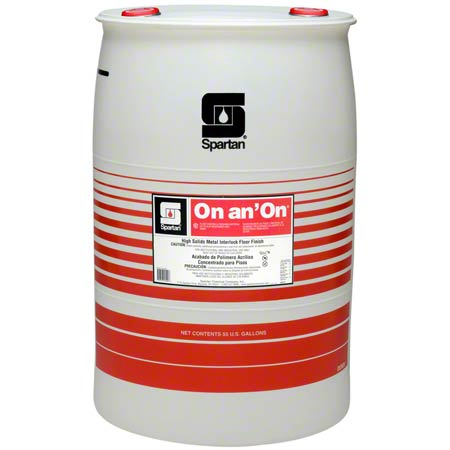 Spartan On an' On® Floor Finish - 55 Gal.